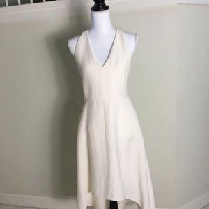 Rachel by Rachel Roy Cream Hi Low Dress Size 4